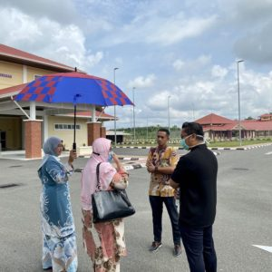 Monitoring visit to Sekolah Tunas Bakti, Jerantut, Pahang