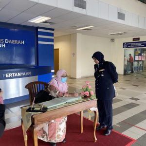 Complaints and Investigation Visit to Temerloh District Police Headquarters, Pahang