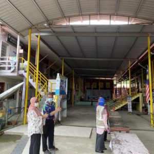 Visit to Sekolah Kebangsaan Langkon, Kota Marudu, Sabah