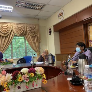 Monitoring visit to Sekolah Tunas Bakti, Kota Kinabalu, Sabah